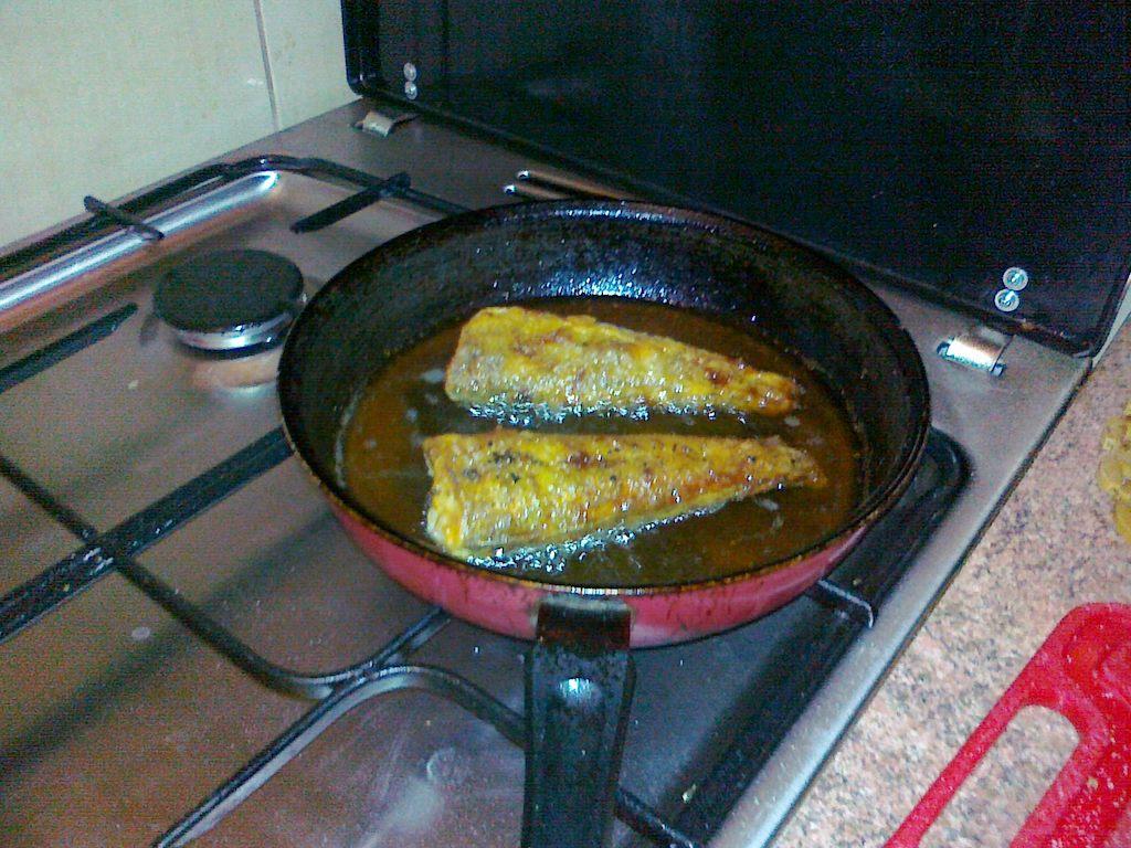 Ryba w piwie - smażenie ryby po drugiej stronie