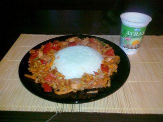 Ryż z warzywami - gotowe danie