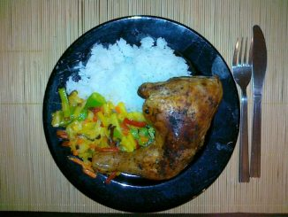 Pomysł na szybki obiad - kurczak z ryżem