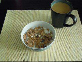 Weekendowe śniadanie - musli i kawa