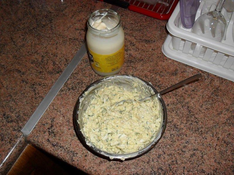 Domowa pasta jajeczna