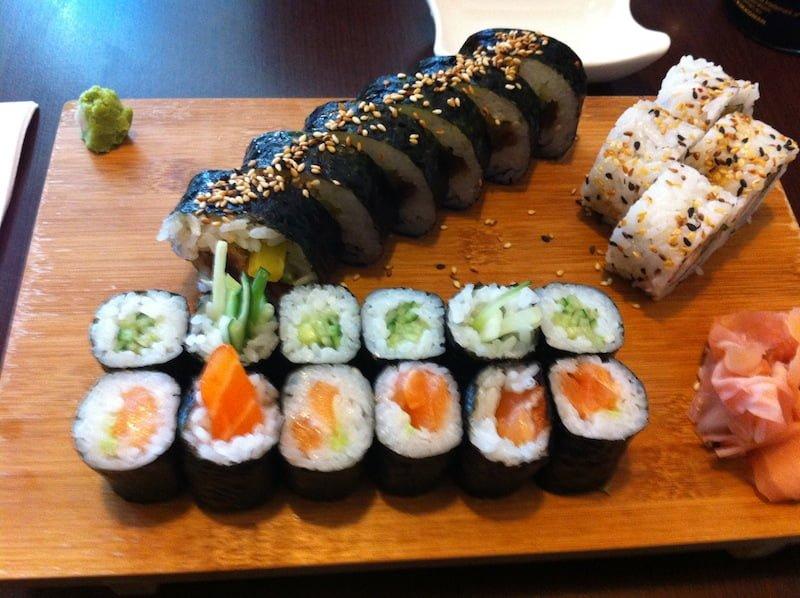 Sushi King - całkiem niezłe sushi