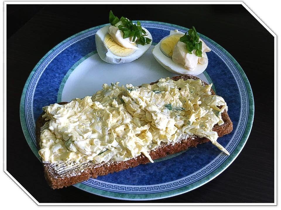Szybka pasta jajeczna