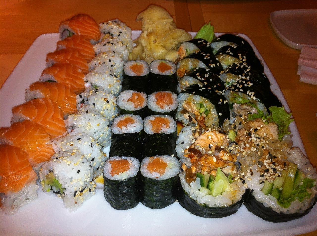 White sushi - czy warto?