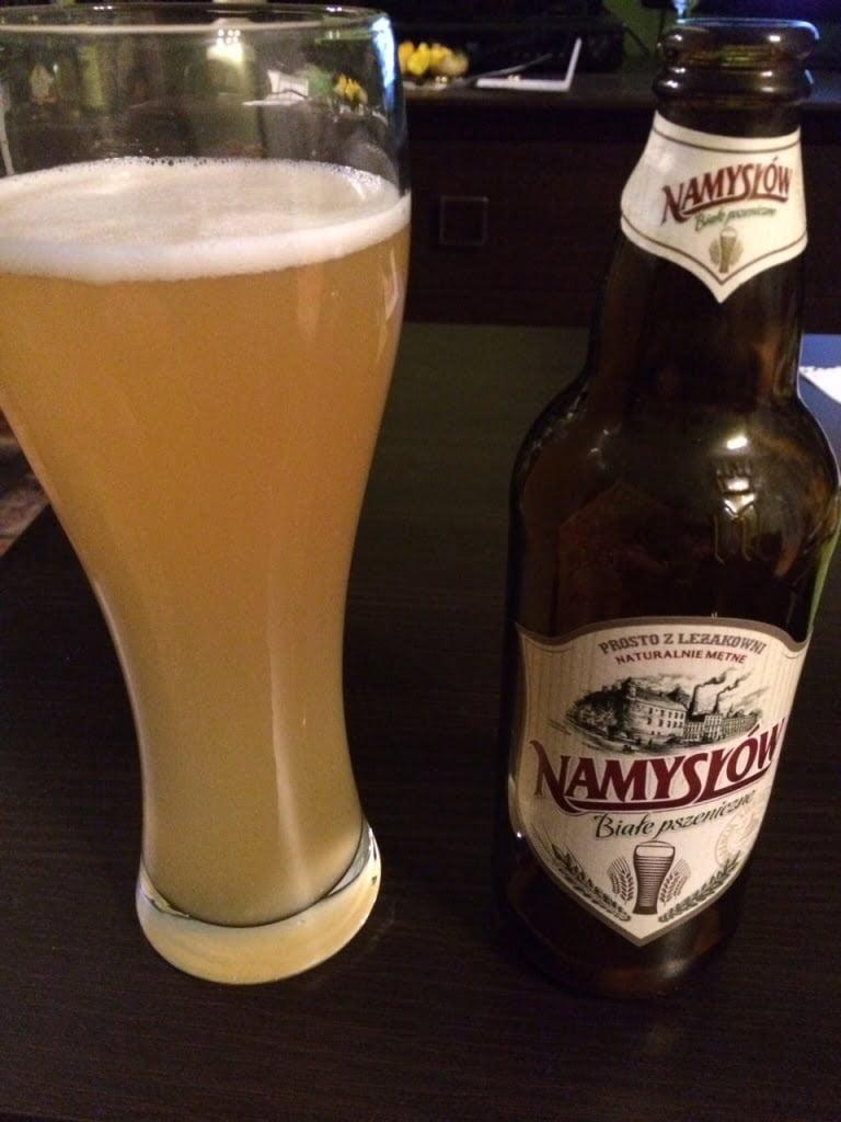 Namysłów Białe - piwo o bardzo delikatnym smaku