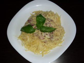 Spaghetti Carbonara wg. przepisu Madzi :)