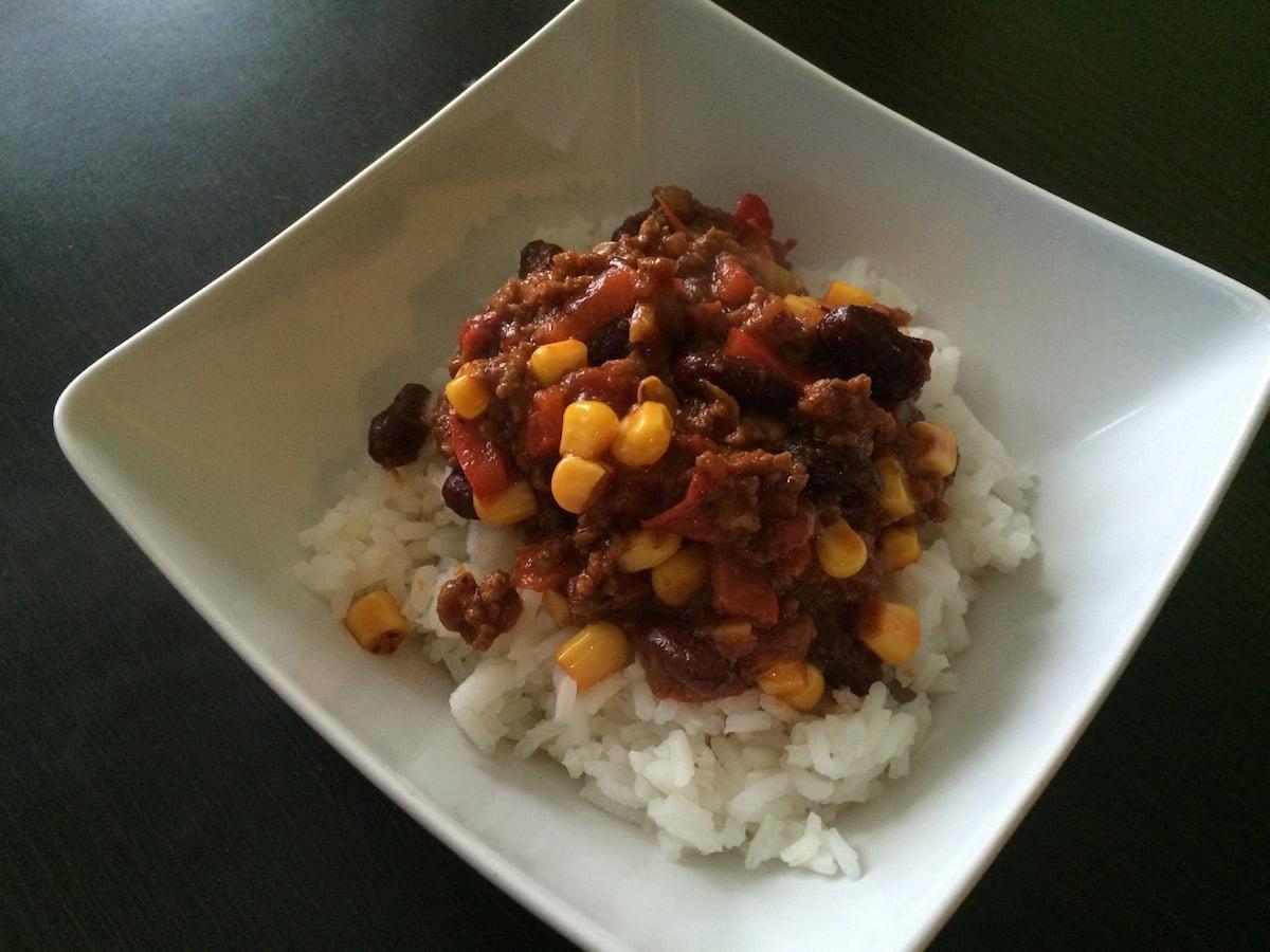 Chili con carne a'la Madzia :)