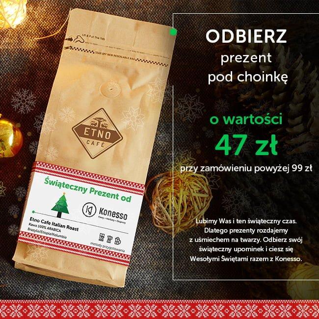 Pyszna, świeżo mielona kawa – idealny pomysł na spędzenie Świąt w gronie najbliższych