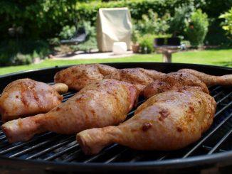 Na grilla - kurczak w ostrej marynacie