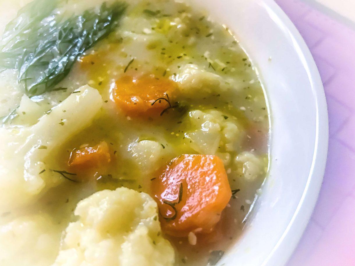 Zupa kalafiorowa - pychotka :)
