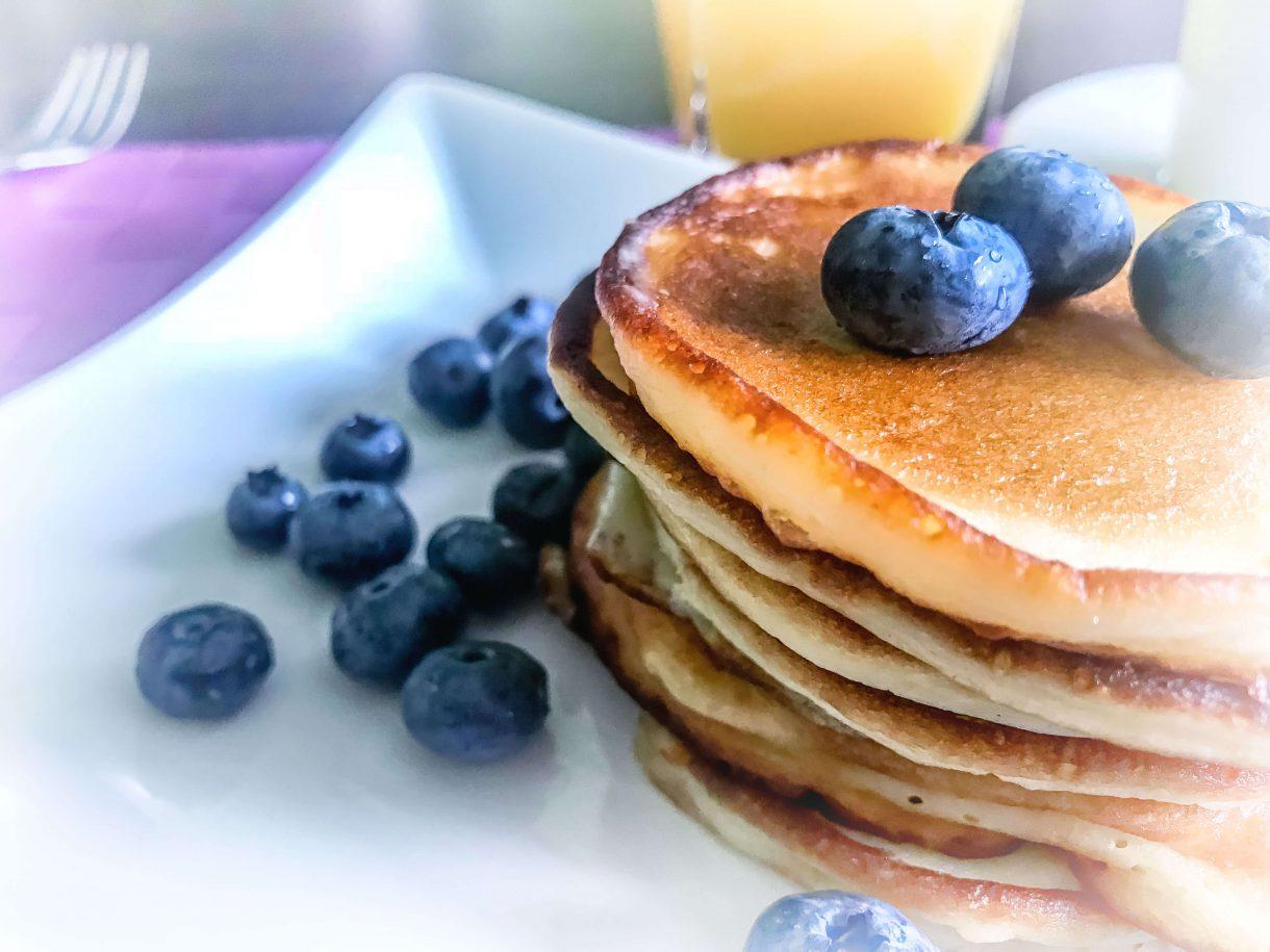 Szybkie placuszki z ricottą na śniadanie