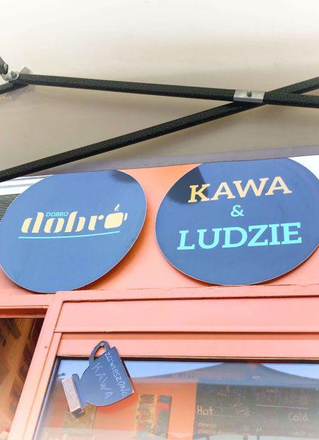 Dobro&Dobro - najmniejsza kawiarnia w Polsce