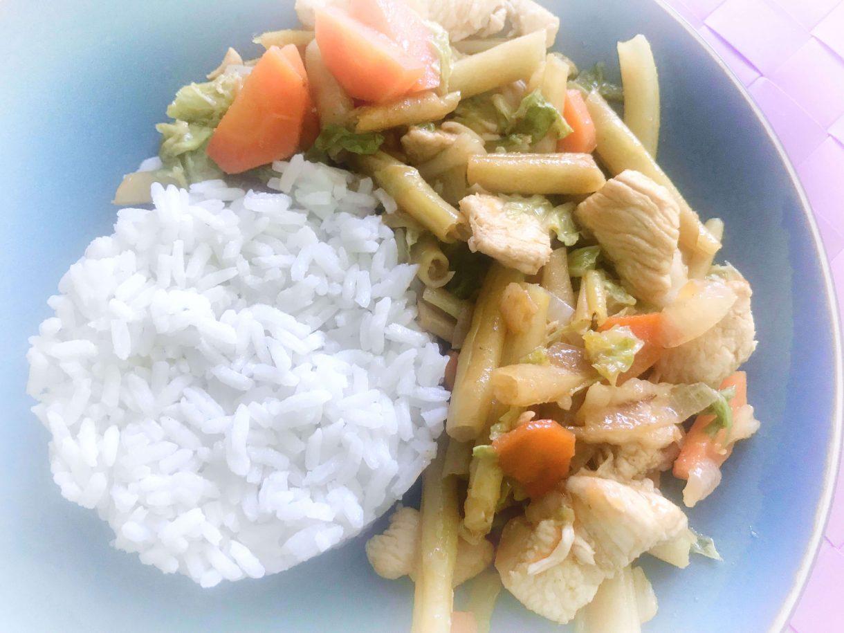 Ryż z kurczakiem w curry