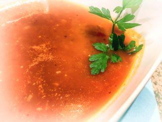 Szybki krem z pomidorów na ostro