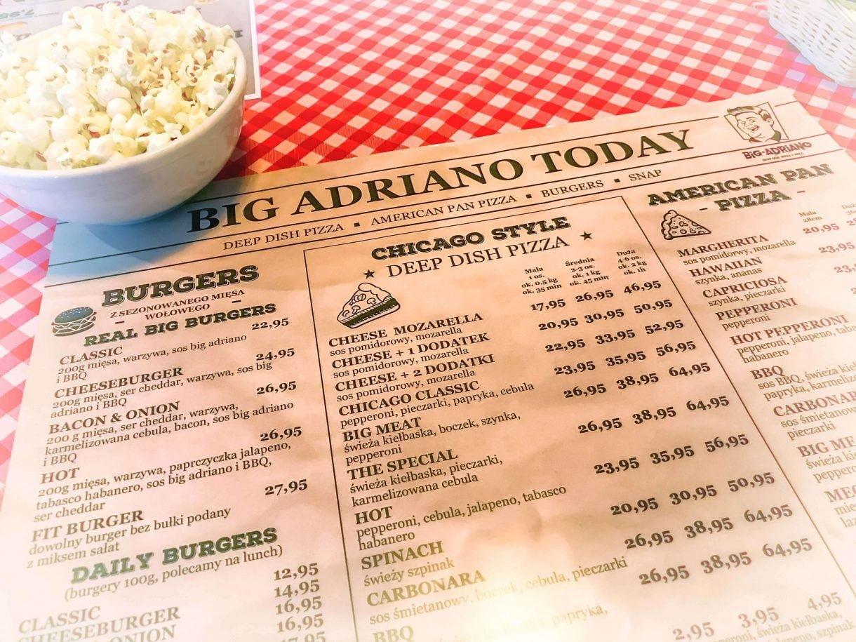 Pizza w stylu Chicago - Big Adriano