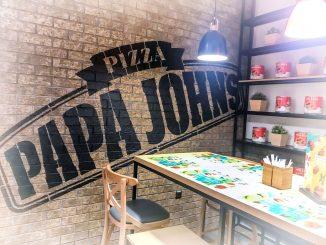 Słynna pizza z Papa John's