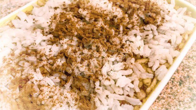 Pyszny ryż z jabłkami