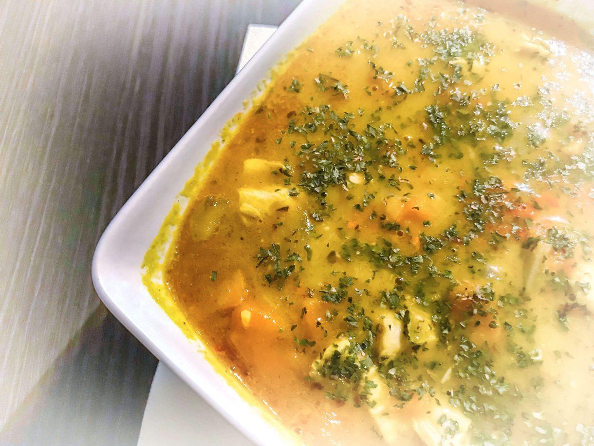 Meksykańska zupa z batatami