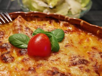 Lasagne z ricottą i dynią
