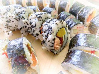 Domowa wersja sushi