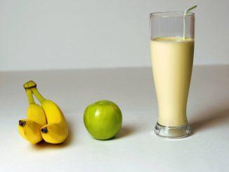 Smoothie bananowo - jabłkowe