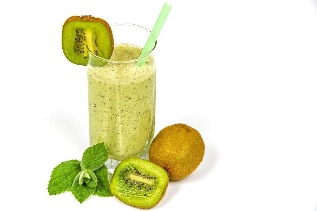 Smoothie z kiwi - bogactwo witaminy C