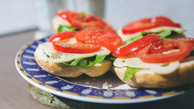 Dietetyczne kanapki na śniadanie
