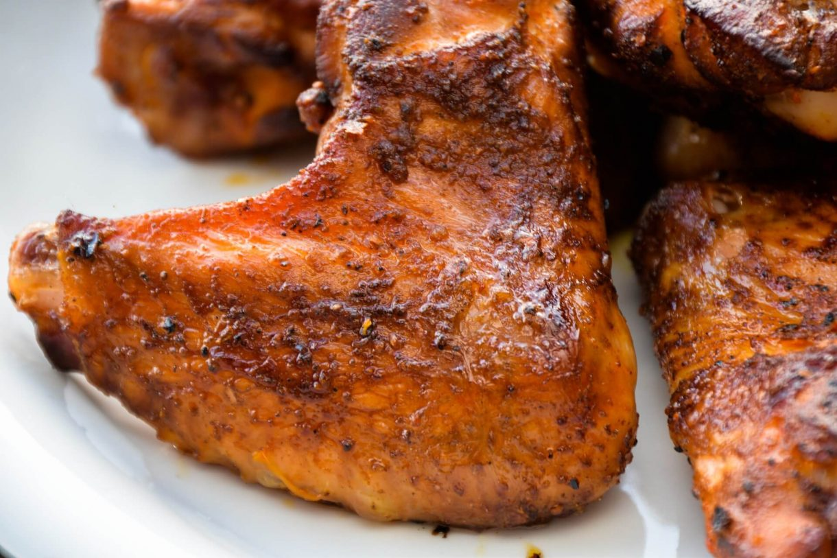 Pikantne skrzydełka z kurczaka