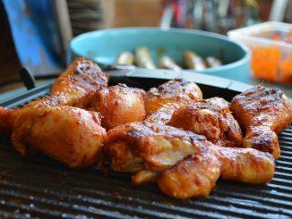 Paprykowe pałki kurczaka z grilla