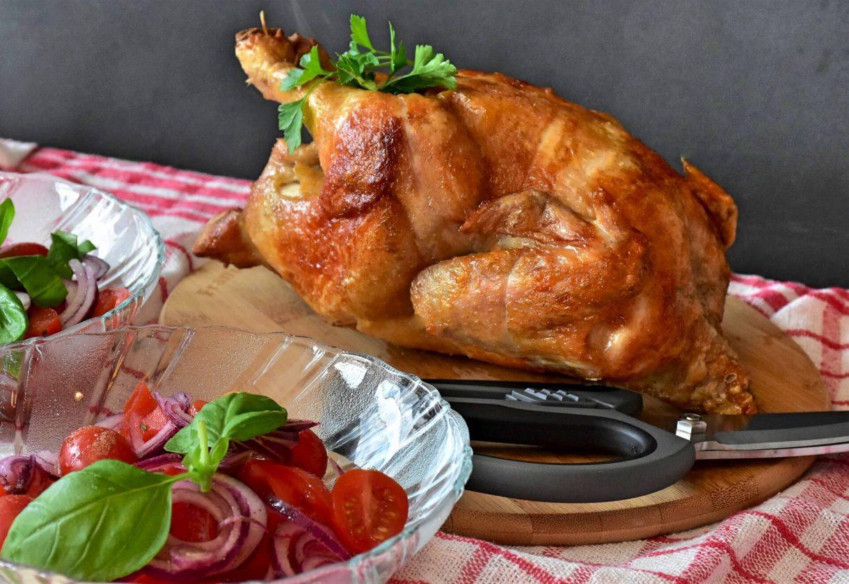 Pieczony kurczak - niedzielny obiad