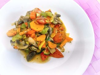 Zdrowe warzywne leczo