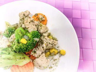 Dietetyczny indyk z warzywami