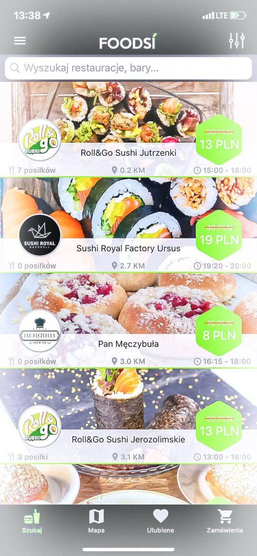 Foodsi - sushi za 3 złote?