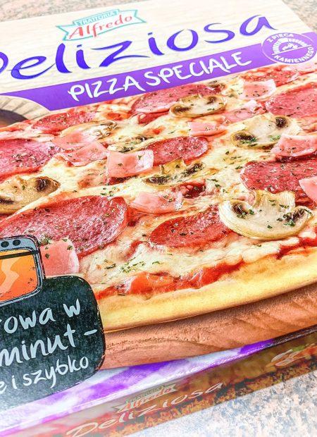 TEST - Pizza z Lidla - Trattoria Alfredo - Deliziosa Pizza Speciale