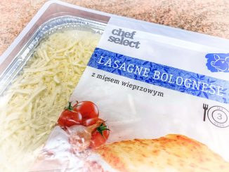 TEST – Lasagne z Lidla – Chef Select
