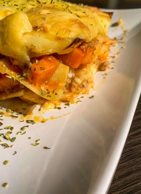 Domowa lasagne bolognese