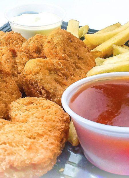 Domowe nuggetsy z kurczaka