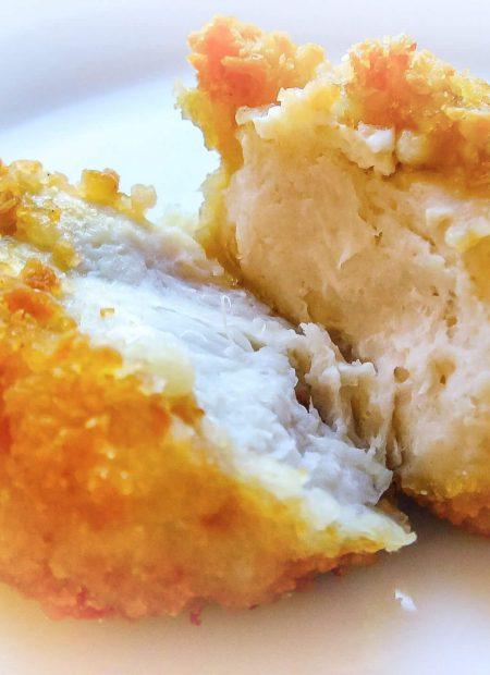 Nuggetsy z kurczaka w płatkach kukurydzianych