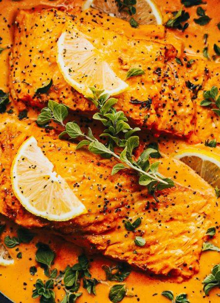 Szybkie curry z łososiem