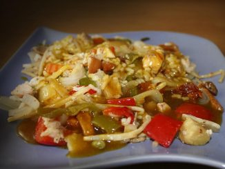 Ryż z warzywami i kurczakiem
