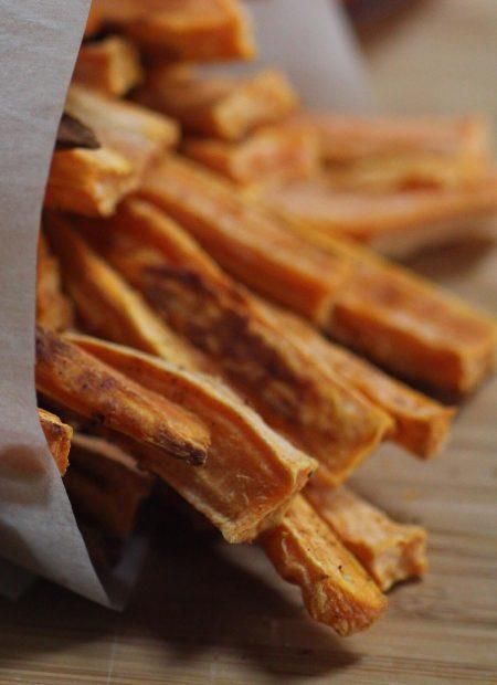 Frytki z batata