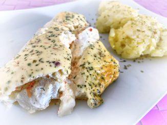 Ryba zapiekana w sosie toskańskim