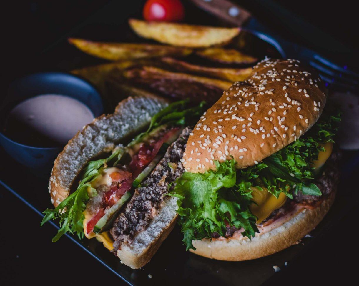 Domowy burger a'la McDonalds