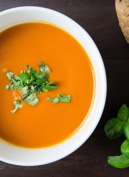 Przepis na pyszną zupę krem z dyni