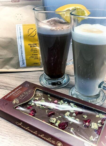 Przepis na latte machiatto w stylu zanzibarskim