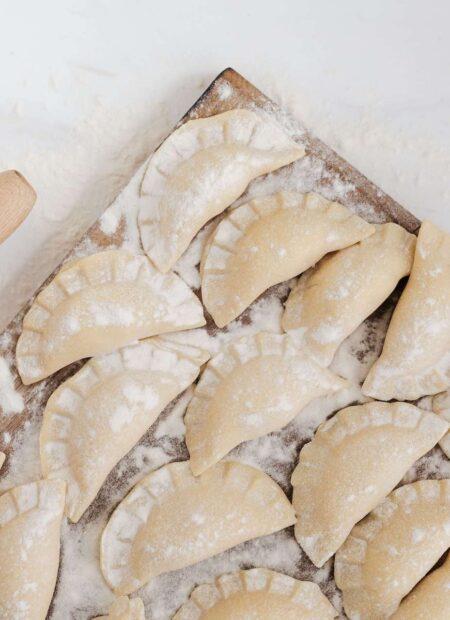 Pierogi z kapustą i grzybami