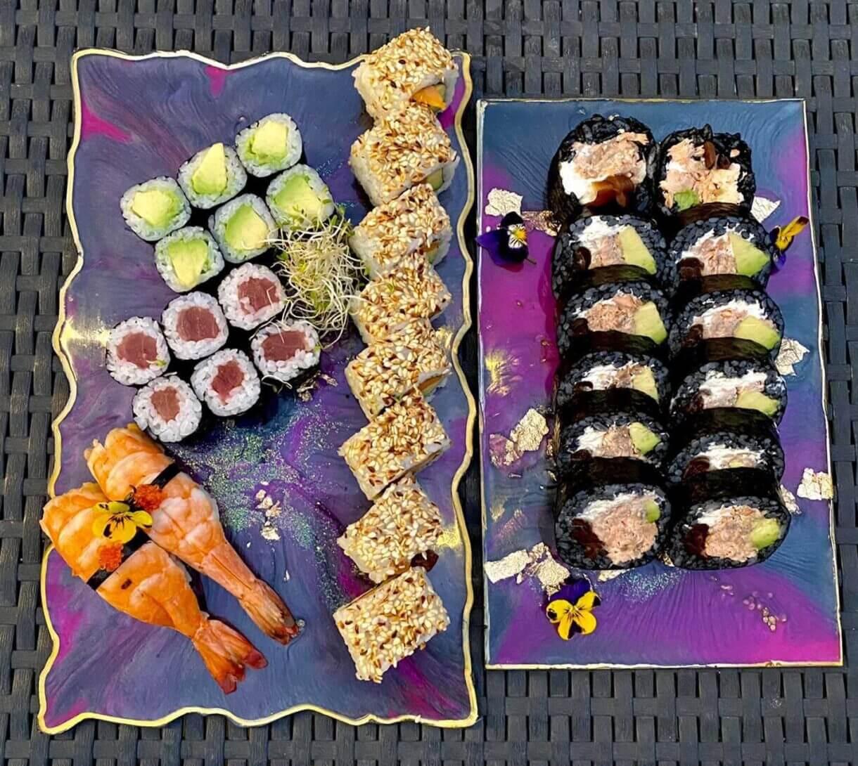 Sushi w dowozie - genialne rozwiązanie... na Święta!