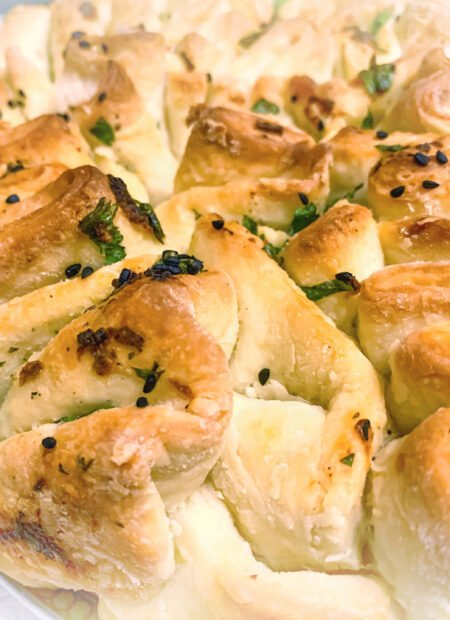 Chlebek czosnkowo- ziołowy