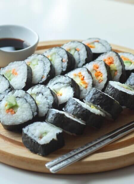 Sushi domowej roboty- potrawa tania i prosta