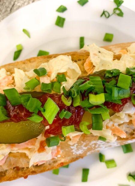 Domowa wersja hot doga
